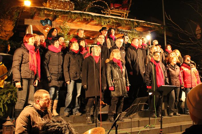 Weihnachtsmarkt Laufenburg.Buchen New Gospel Singers Murg