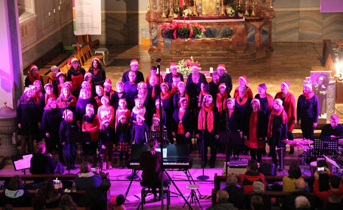 Stimmig bis ins letzte Detail war das Adventskonzert der New Gospel Singers Murg